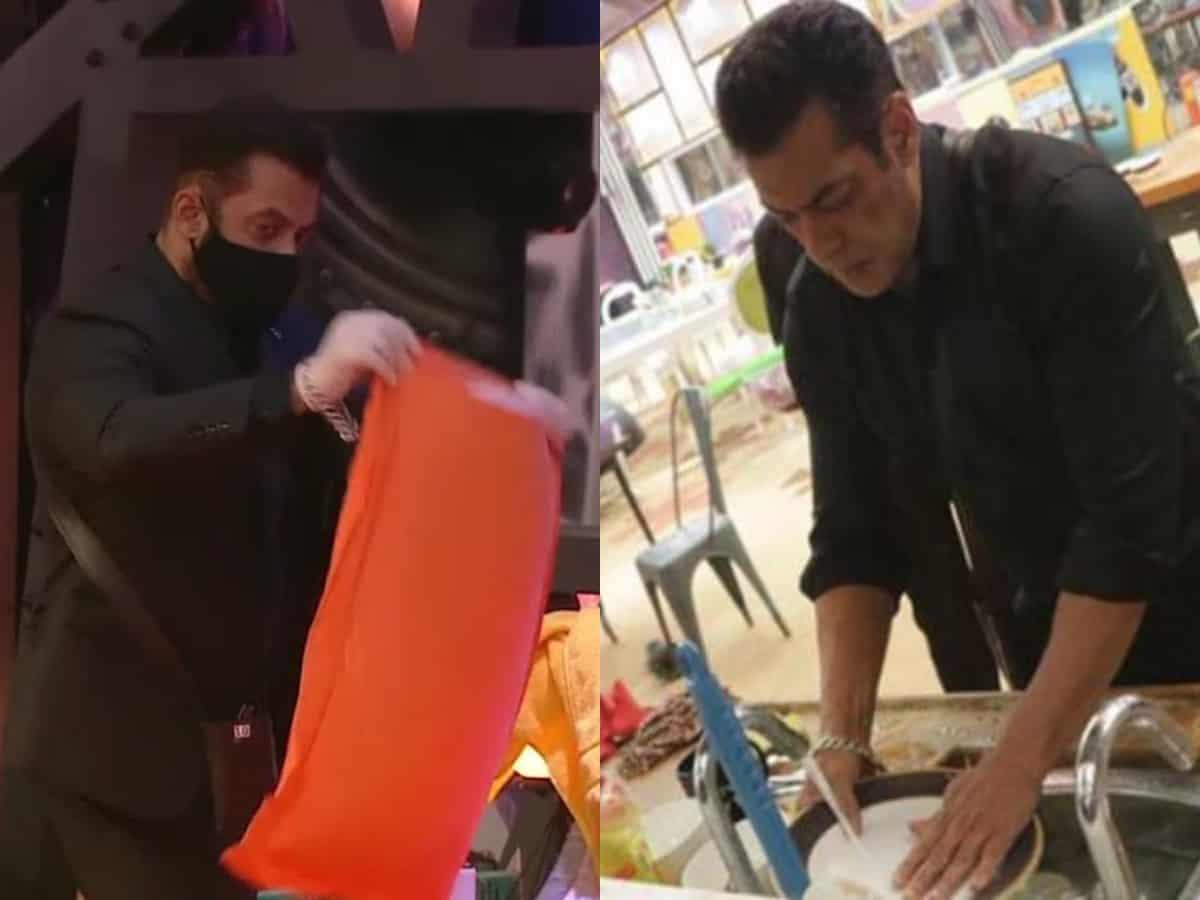 When Salman Khan cleaned Rakhi Sawants bed, utensils and washrooms inside Bigg Boss house