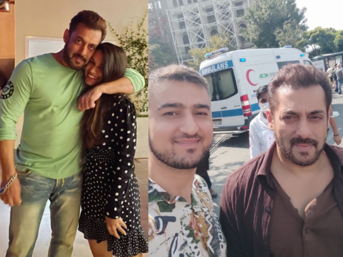Salman Khan clicks with fans in Istanbul [Photos]
