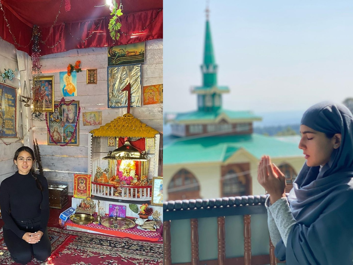 Secular Sara's new Insta post is about – masjid, church and temple