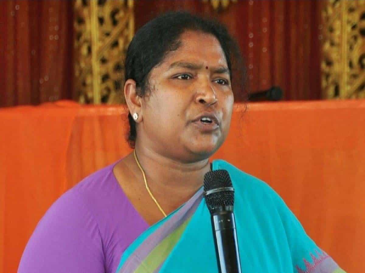 Congress MLA Seethakka slams Govt. over rape and murder of minor girl