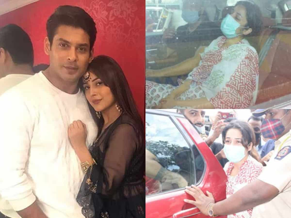 Inconsolable Shehnaaz Gill's visuals from Sidharth's last rites go viral [Video]