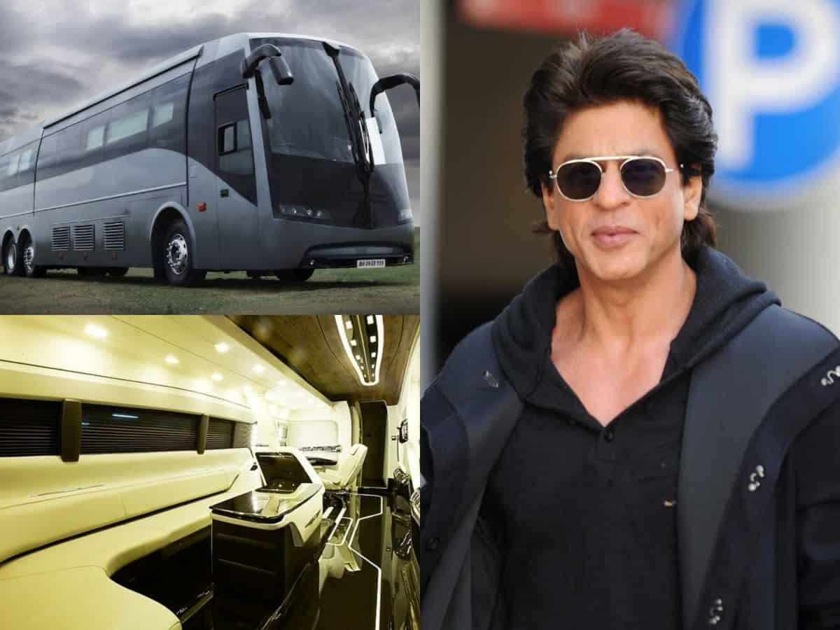 'Palace-like room on wheels': Inside SRK's multi-crore vanity van