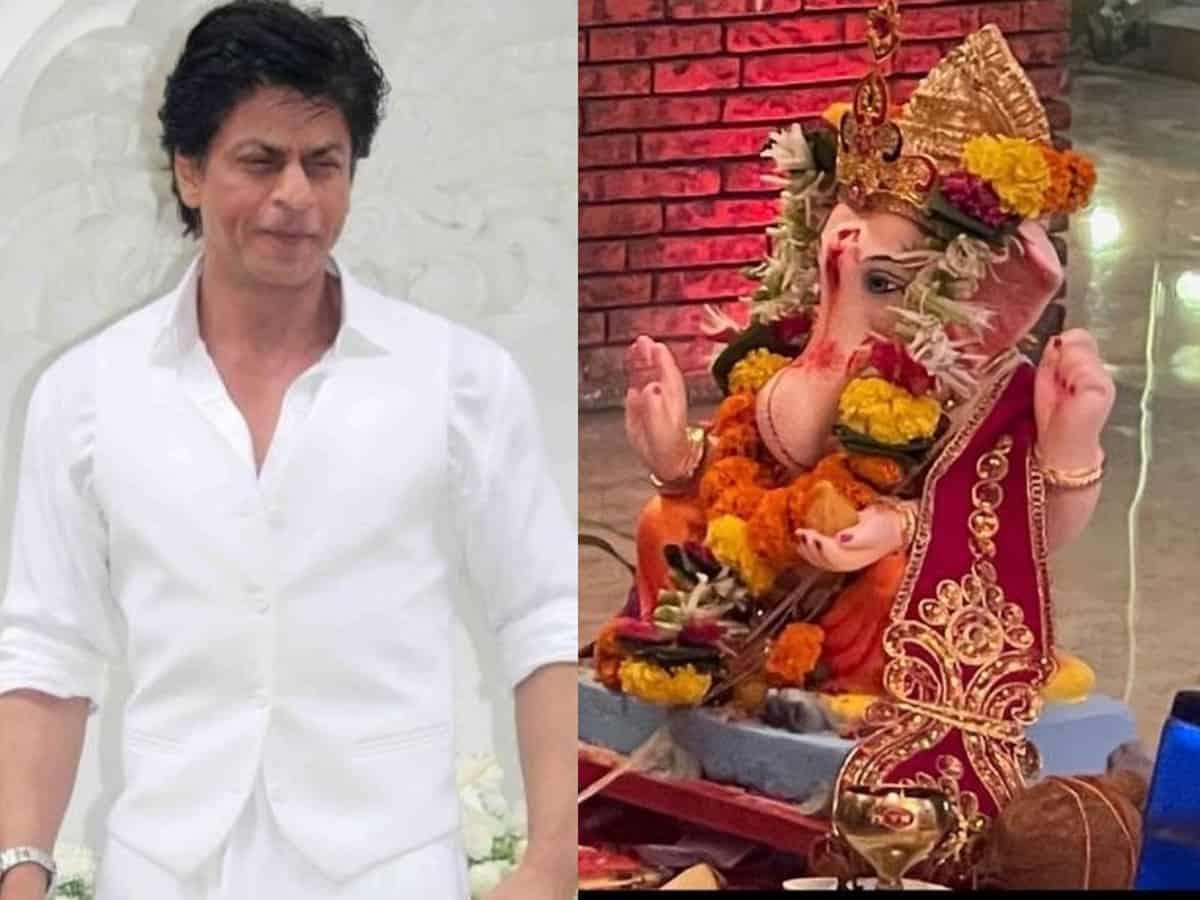 'Just convert': SRK gets brutally trolled for sharing a Ganesh Visarjan post