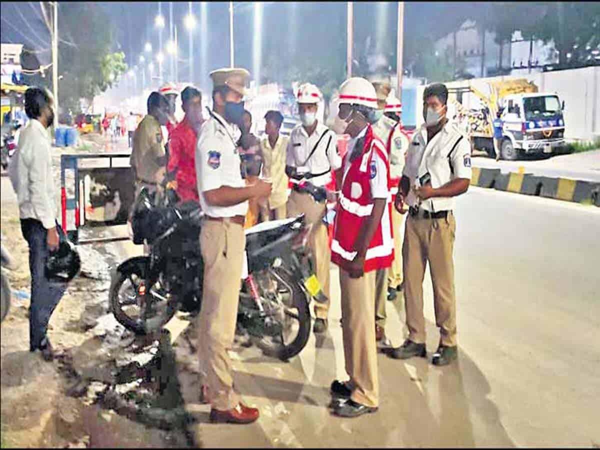 Over-speeding tops traffic violations in Telangana