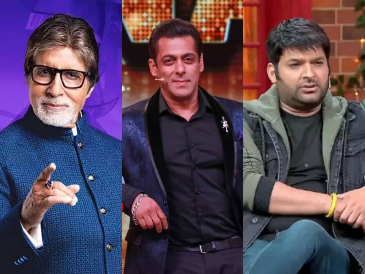 Salman Khan to Kapil Sharma: TOP 5 highest paid TV hosts in India