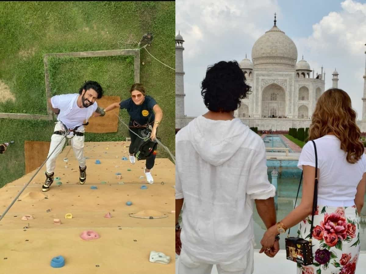 It's official! Vidyut Jammwal and Nandita Mahtani are engaged