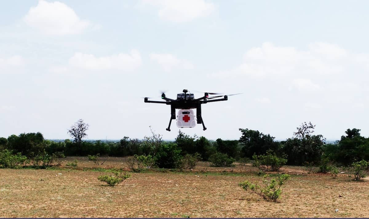 Airserve conducts successful delivery trial of medical drone over 6 km