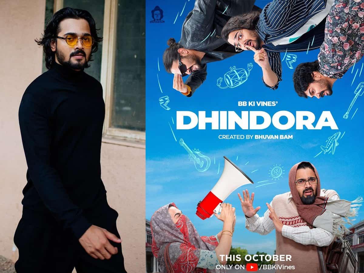 Bhuvan Bam's first web series 'Dhindora' talks about 'aam aadmi'