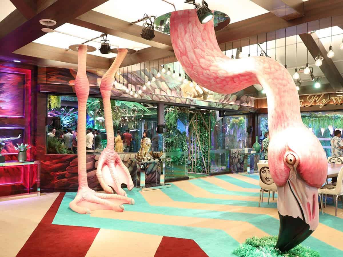 Step inside Bigg Boss 15 house: Giant flamingo to secret jungle door
