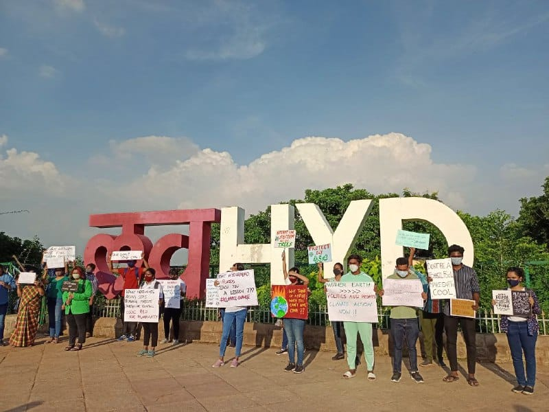 Absurd drama: HMDA fines teen climate activist Rs 11,800 for organising protest