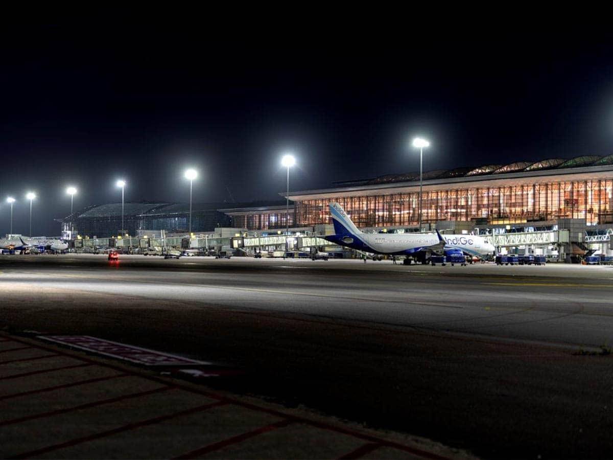 Hyderabad airport records daily passenger footfall of 48K