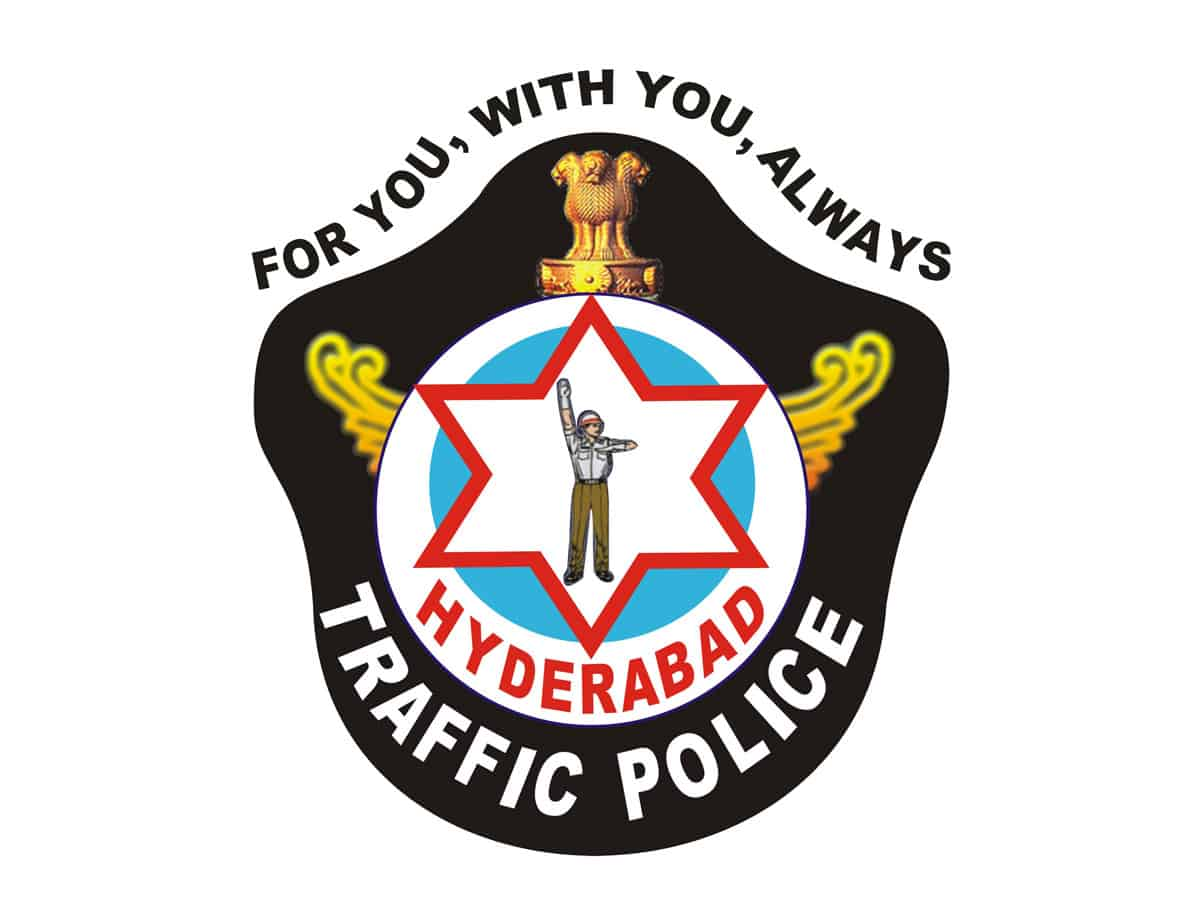 Hyderabad police ask all two-wheeler drivers including pillion to wear helmets