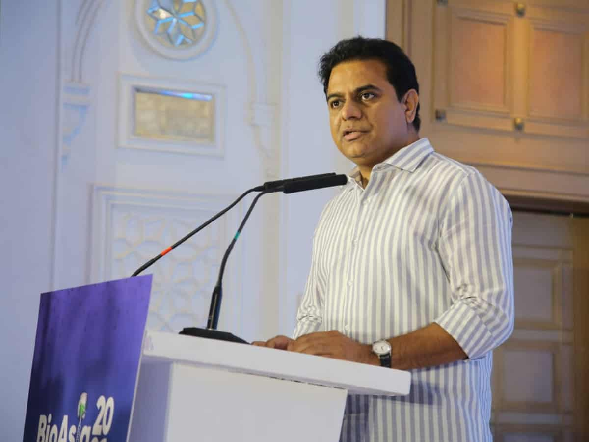 SNDP drainage works to be mooted soon in Hyderabad: KTR
