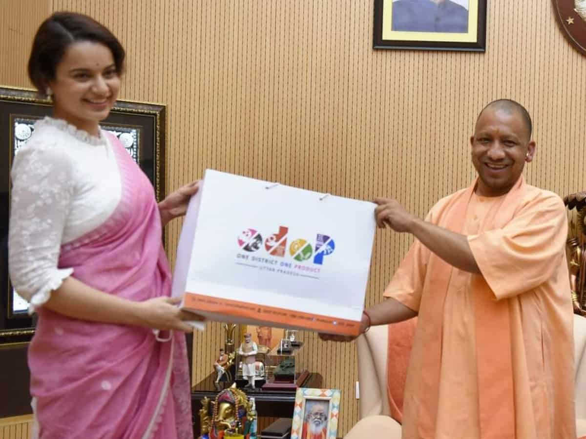 Kangana Ranaut is now brand ambassador of UP's ODOP scheme