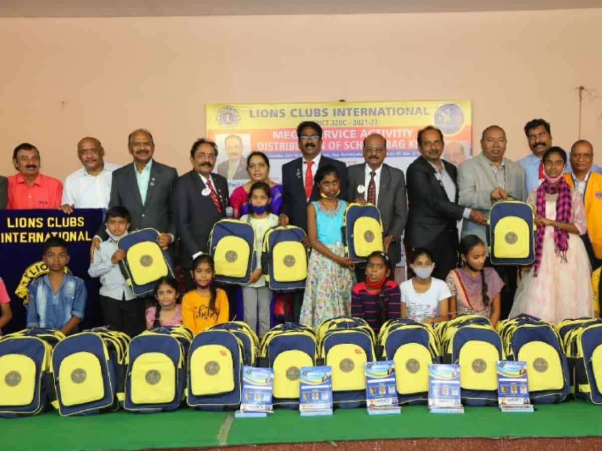 Lions international distributes school kits to 1500 needy students