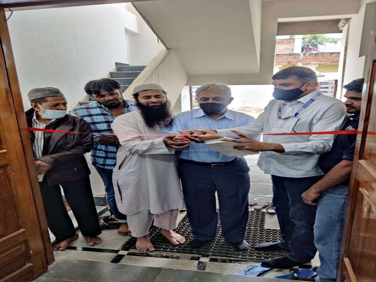 Helping Hand Foundation launches health care centre in Hasanagar slum