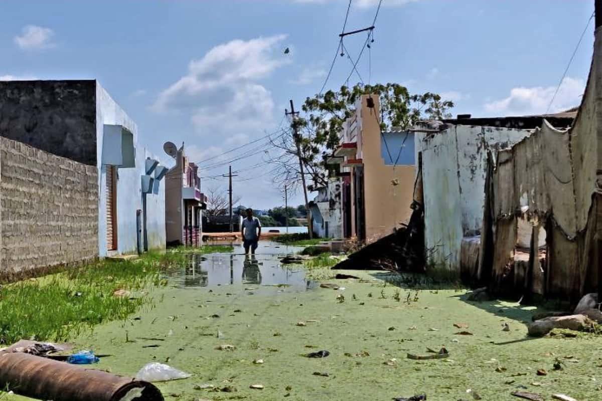 A year after floods, Hyderabad's Osman Nagar still submerged