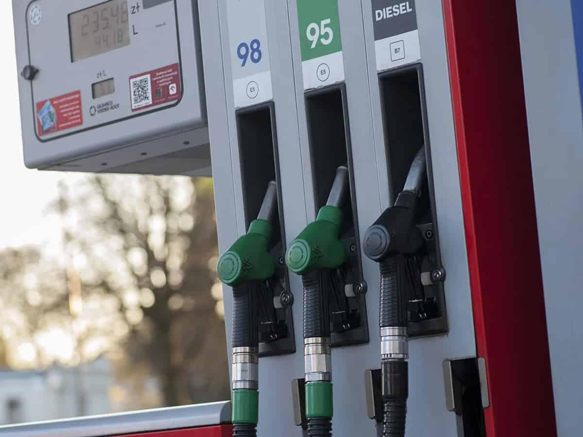 Price of diesel too crosses Rs 100 mark in Hyderabad