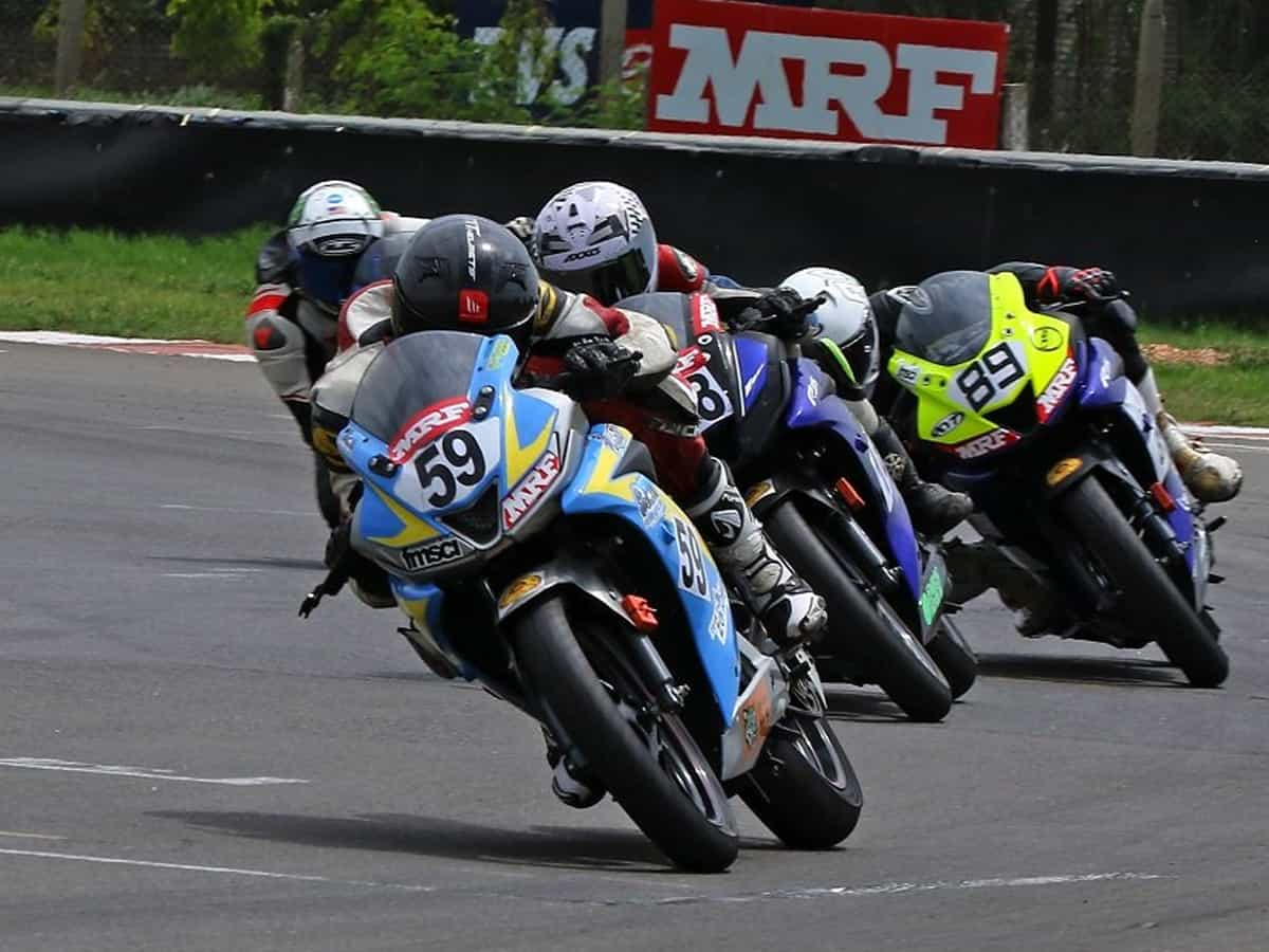 Motorcycle nationals: Hyderabad's Shetty trumps quality field in premier class