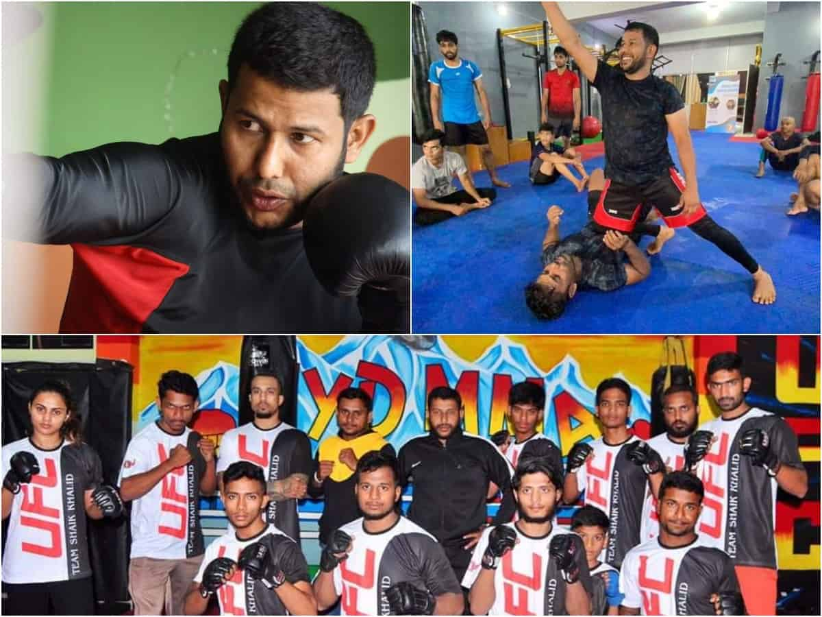 Story of Shaik Khalid: The man who popularised MMA in Hyderabad
