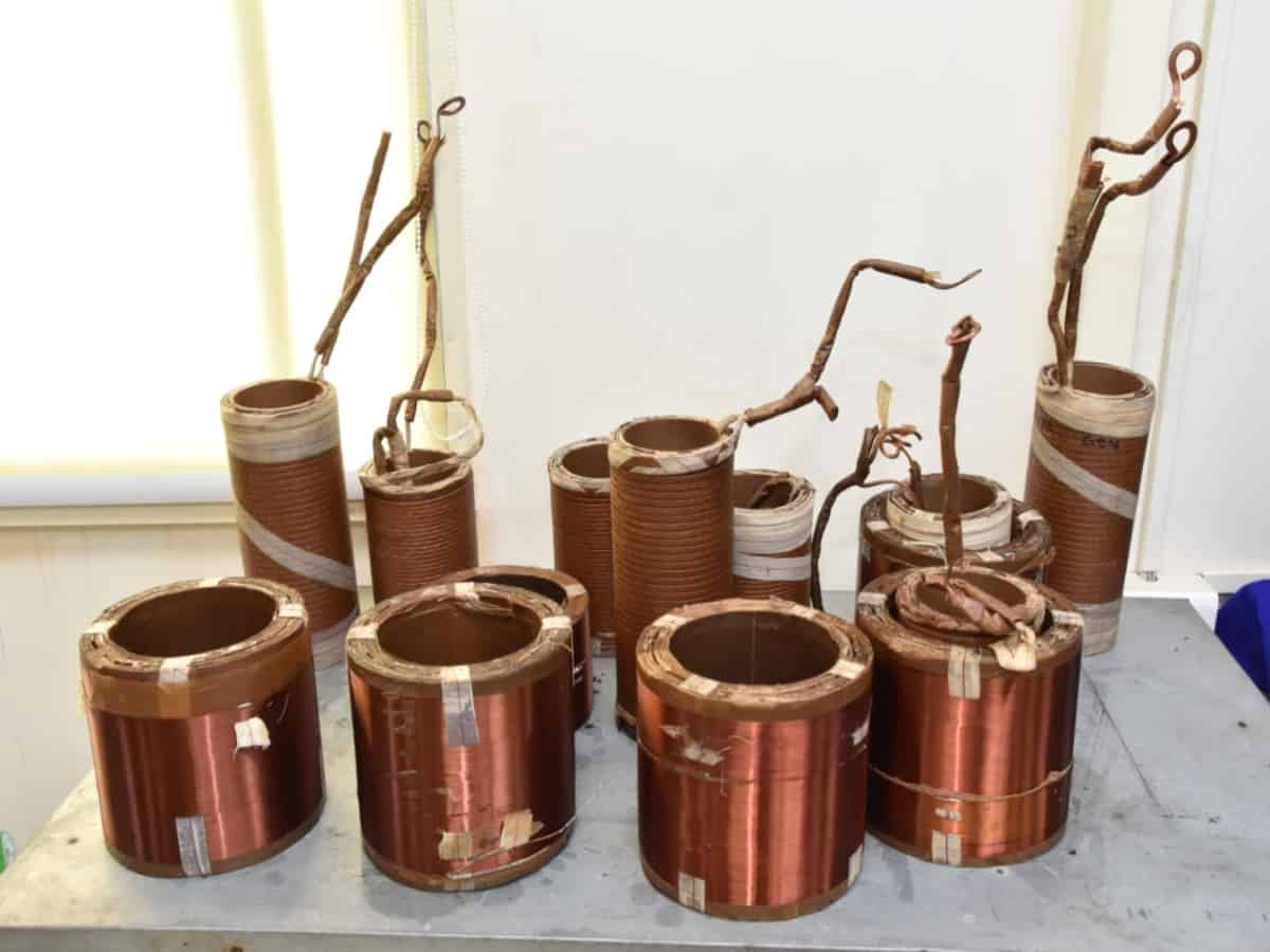Hyderabad: Two arrested for stealing transformer copper coils