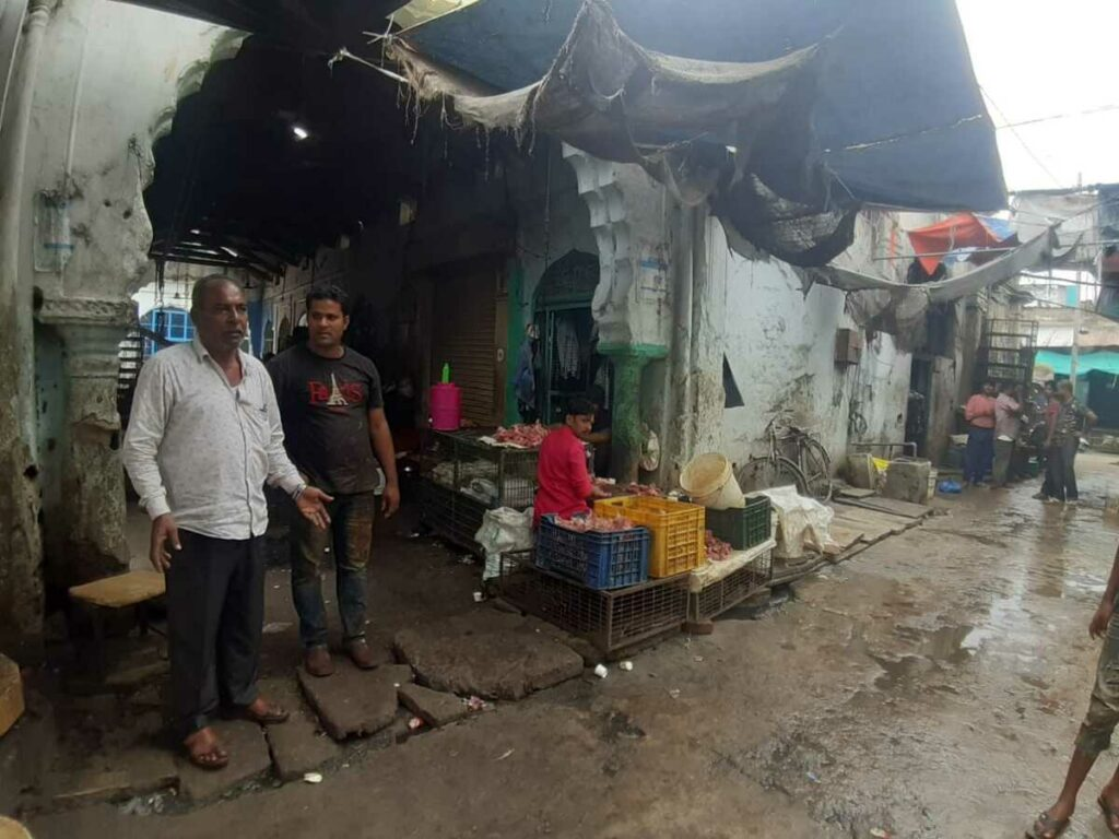Infrastructure a rising concern for Murgi Chowk vendors