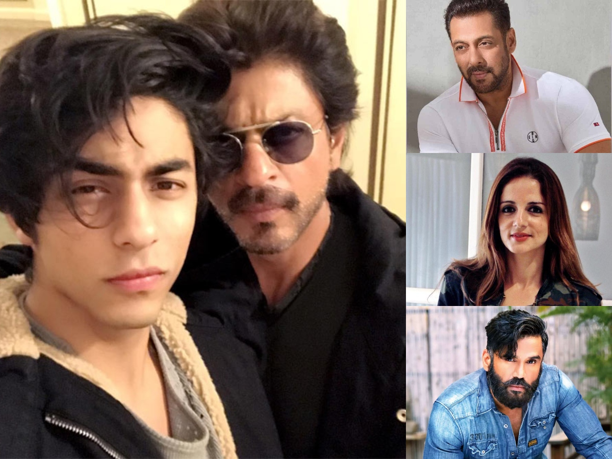 Aryan Khan's arrest: All celebs who are supporting SRK, Gauri