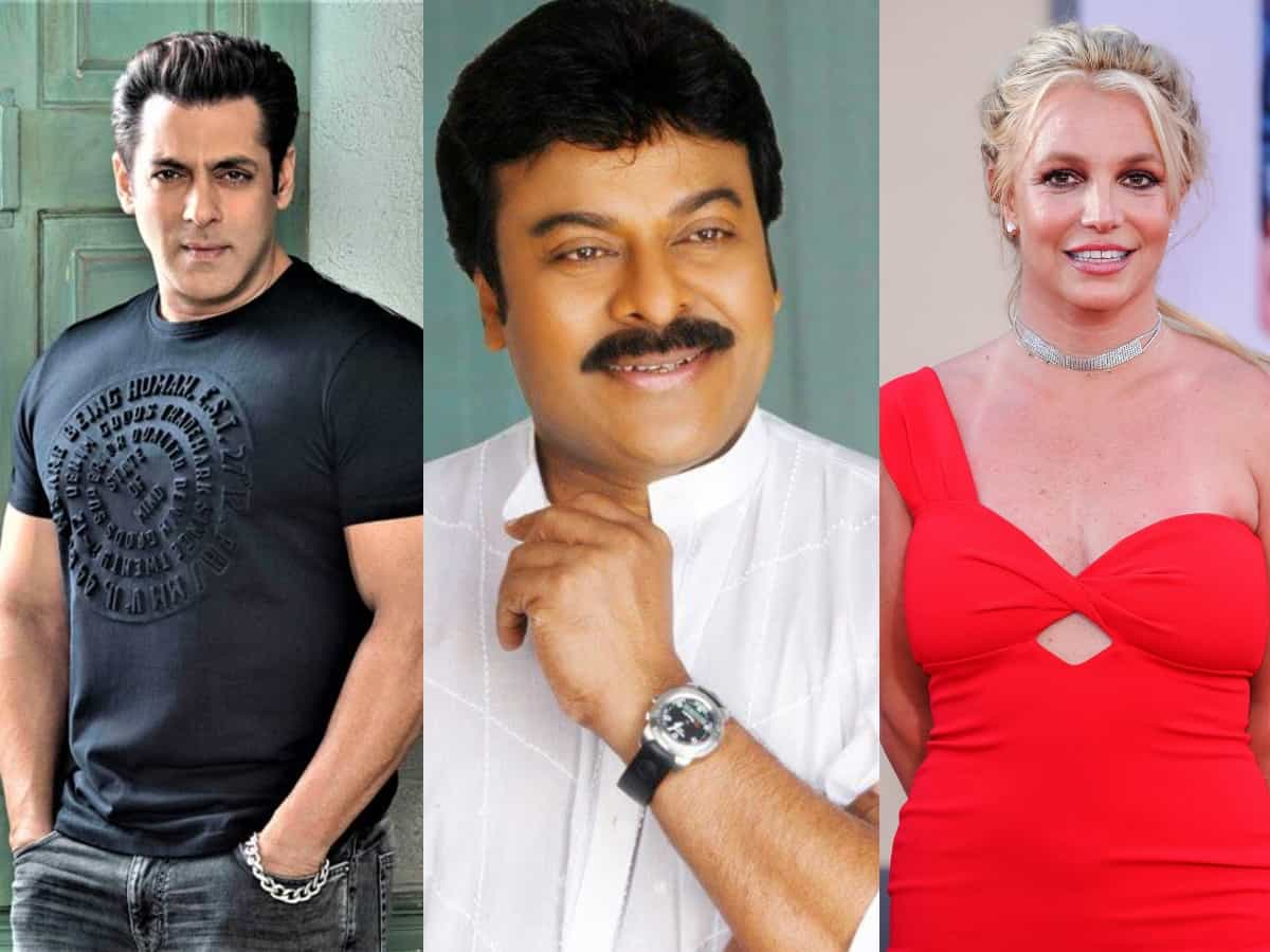 Britney Spears, Salman Khan in Chiranjeevi's next