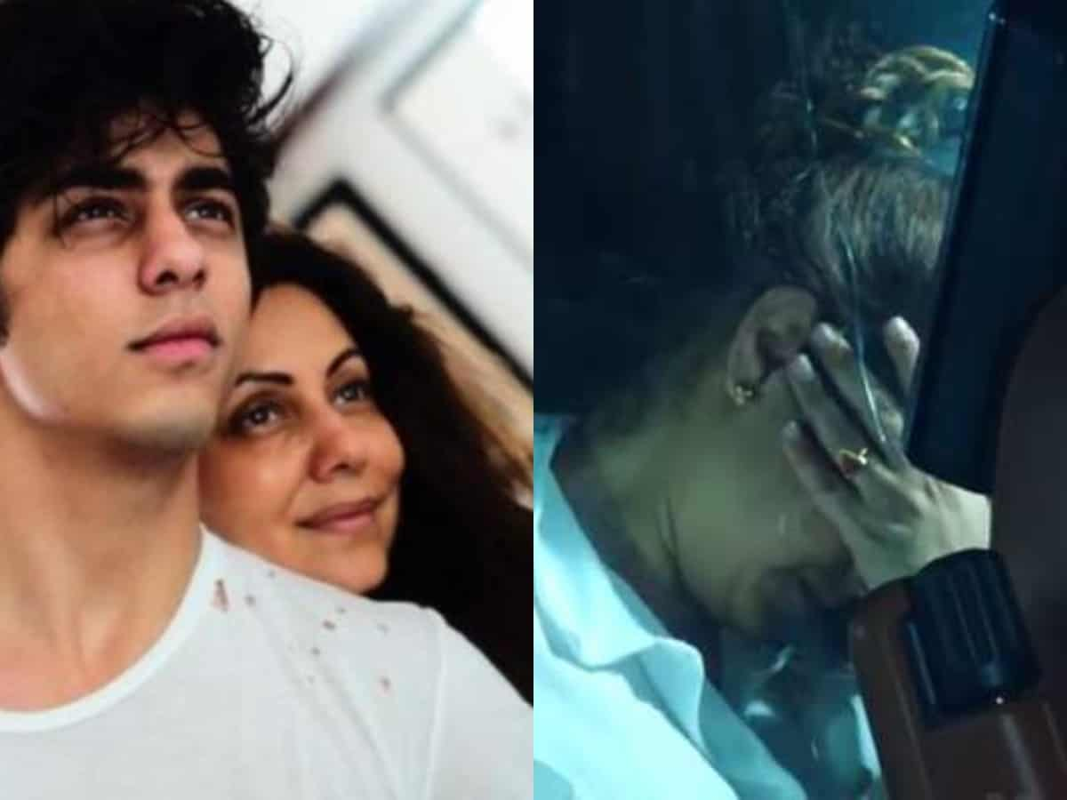Gauri Khan cries inconsolably after Aryan Khan sent to jail [Unseen Video]