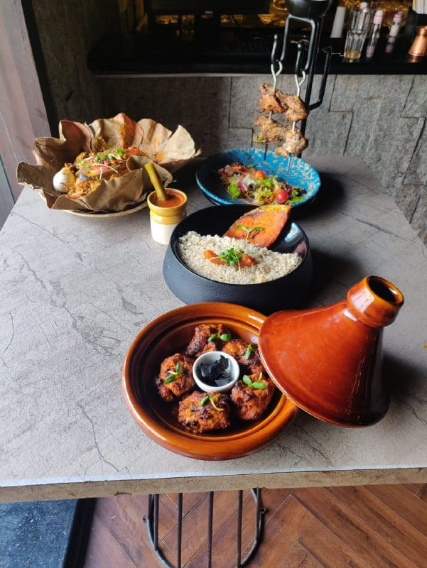 Contemporary Indian food with a twist at Farzi Cafe