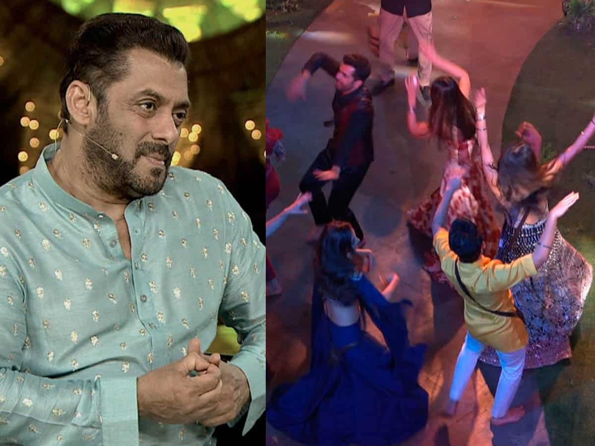 'Bigg Boss 15': Contestants do the garba to celebrate Navratri with guests
