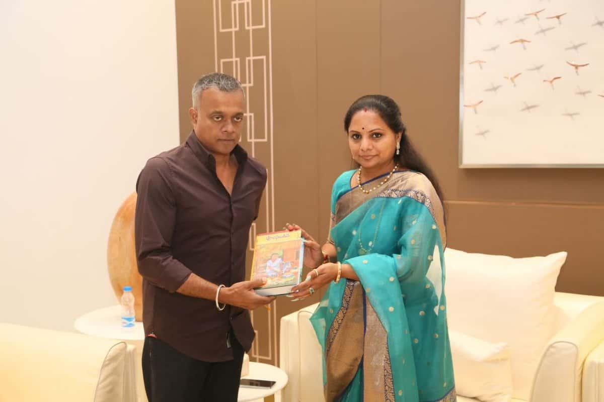 TRS MLC Kavitha launches Bathukamma Song 'Allipoola Vennela'