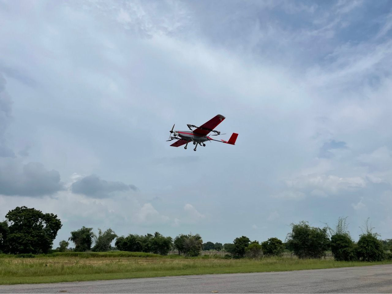T-works develops new AMRT25 UAV which covers 45 kms in 33 mins