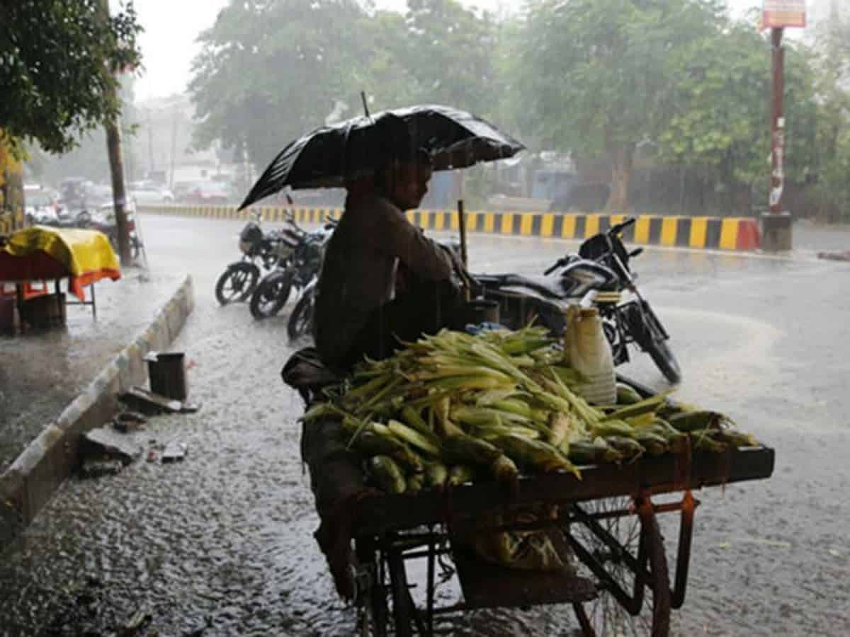 Rains lash Hyderabad; showers to continue for next three days