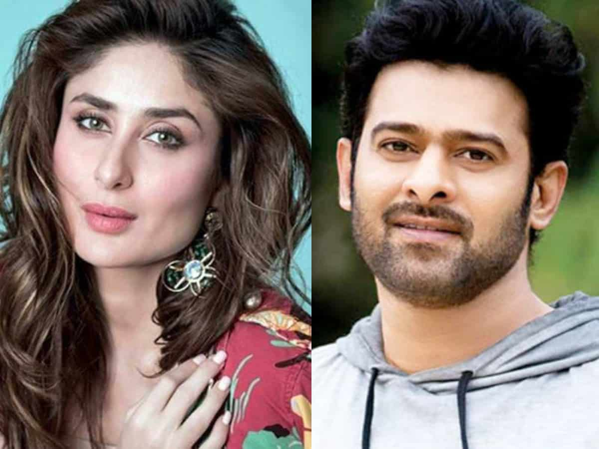 Prabhas to romance Kareena Kapoor Khan