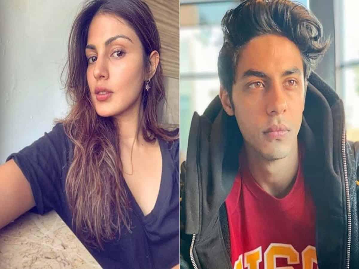 Viral: Rhea Chakraborty's cryptic message amid Aryan Khan's drug case