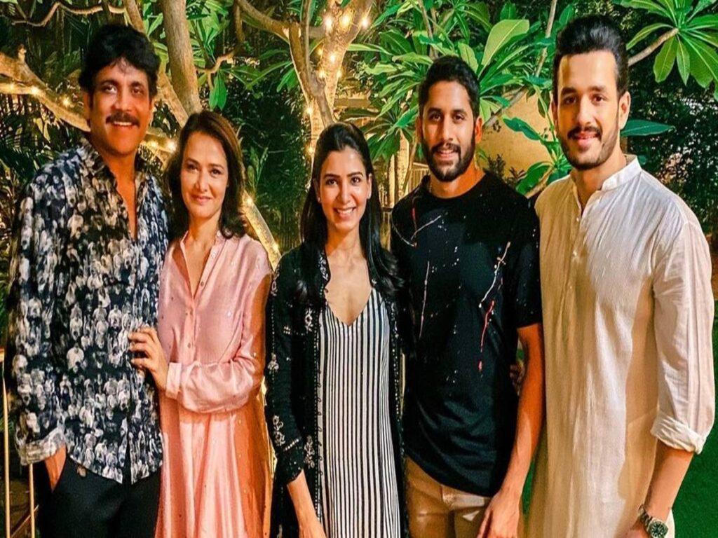 Samantha Ruth Prabhu still follows Akkineni fam