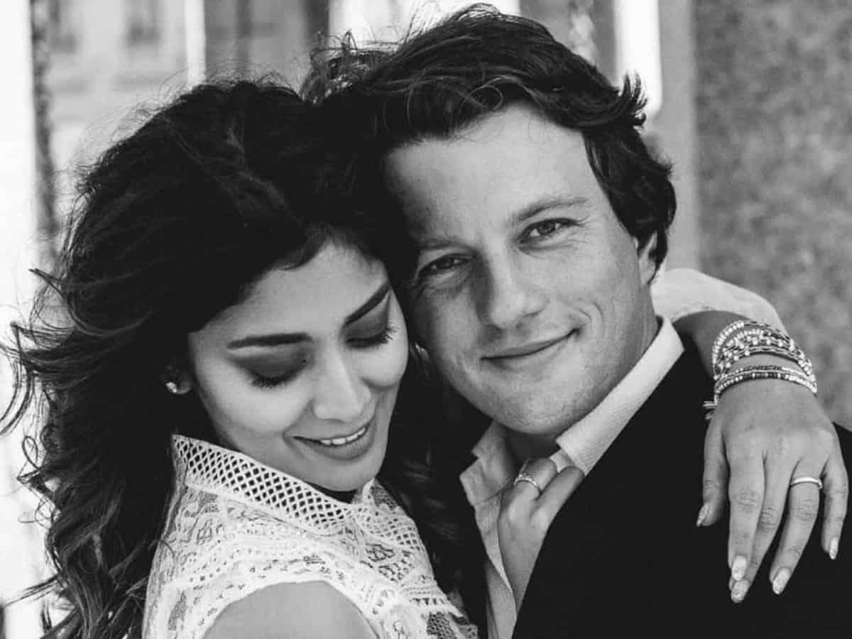 Shriya Saran welcomes first child with husband Andrei Koscheev