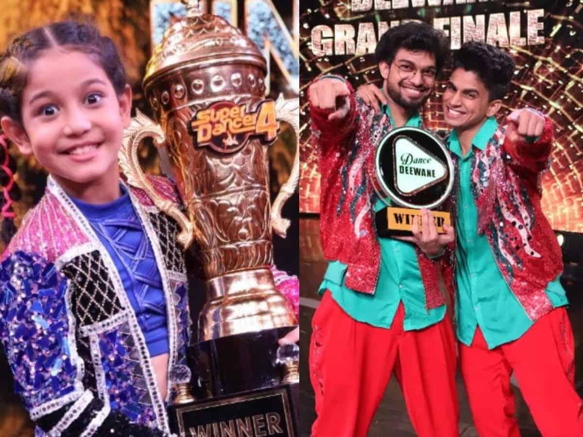 Super Dancer 4, Dance Deewane 3: WINNERS and prize money